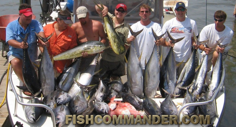 Fishing reports grand isle venice la yellowfin tuna for La fishing charters
