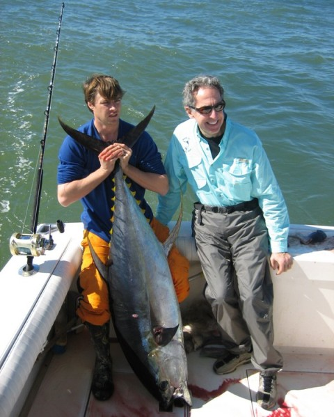 The gallery for yellowfin tuna fishing for Fishing charters grand isle la