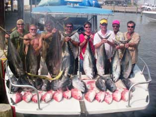 Tuna Fishing Charters Louisiana