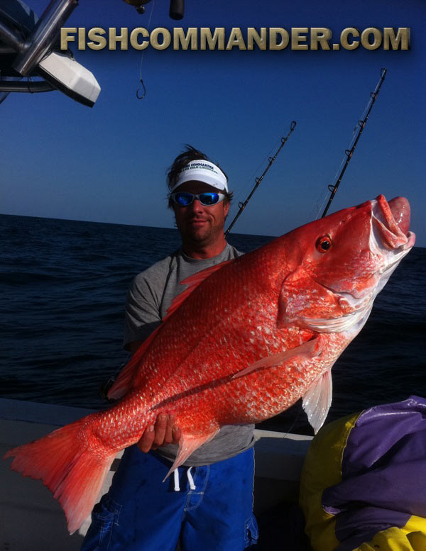 Giant red snapper mangrove grouper fishing report for Fishing charters grand isle la