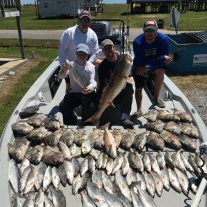 Speckled Trout Fishing Charters in Grand isle Louisiana