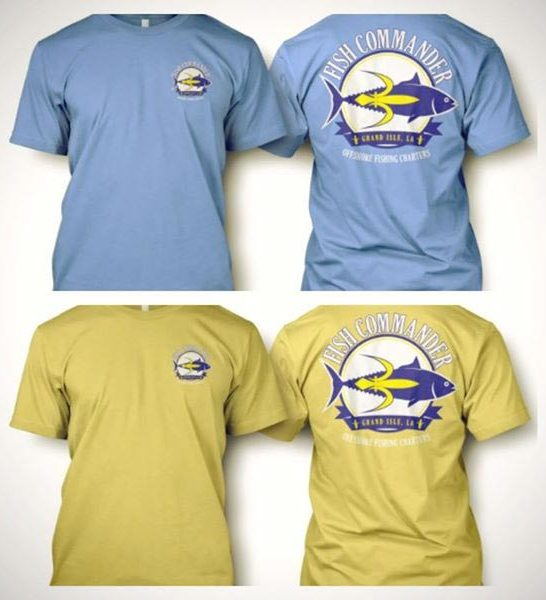 Fishcommander Guide Service T Shirts